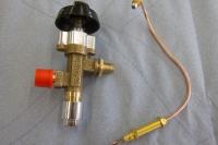 Gasventil & Temperaturfühler einzeln